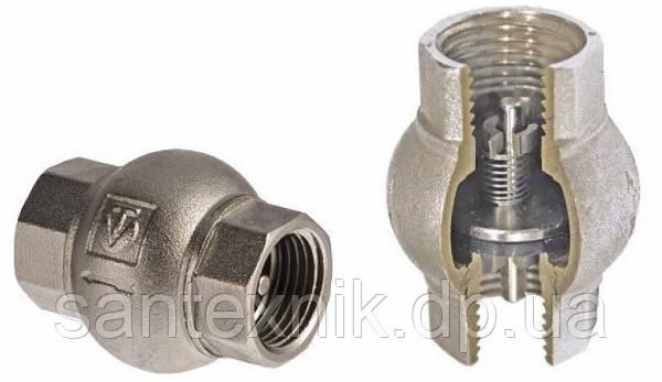 Обратный клапан 3/4 VALTEC (латунь золото)
