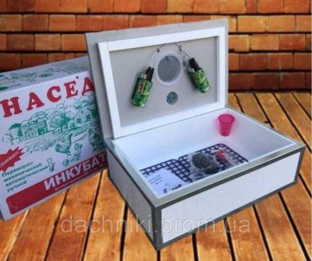 Инкубатор для яиц Наседка ИБ 70, ручной переворот, аналоговый терморегулятор