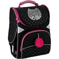 Рюкзак школьный каркасный GoPack Shiny cat (GO20-5001S-6)