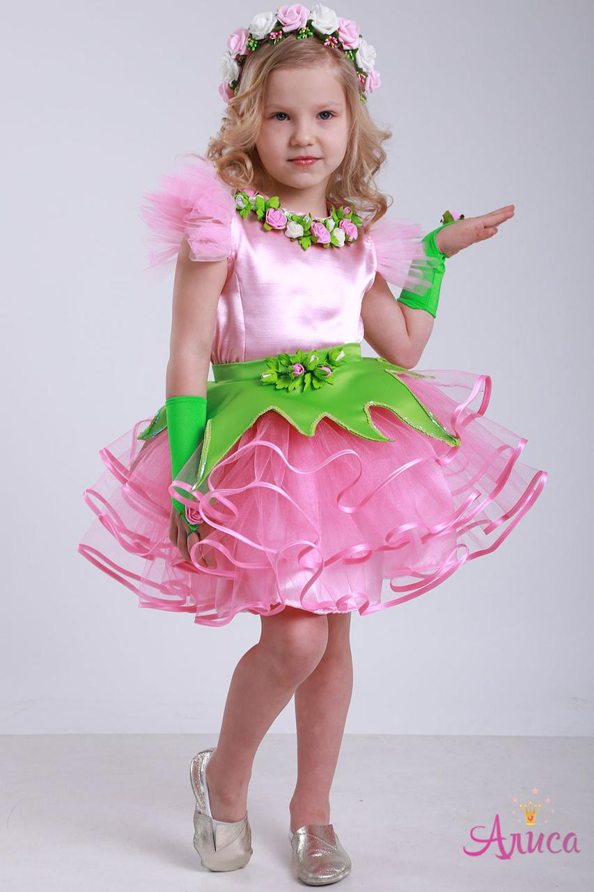Карнавальный костюм Розочка