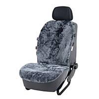 F1-00871, Авточехол на сидіння універсальний з натуральної овчини ATU, , темно синій