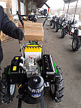 Мотоблок дизельний Кентавр МБ 2012ДЕ (12 л. с. електро стартер), фото 5