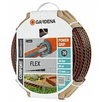 Шланг в комплекте с соединительными элементами Gardena Flex 13 мм х 20м.