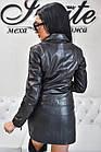 Куртка Женская Косуха Черная 020НЖ, фото 5
