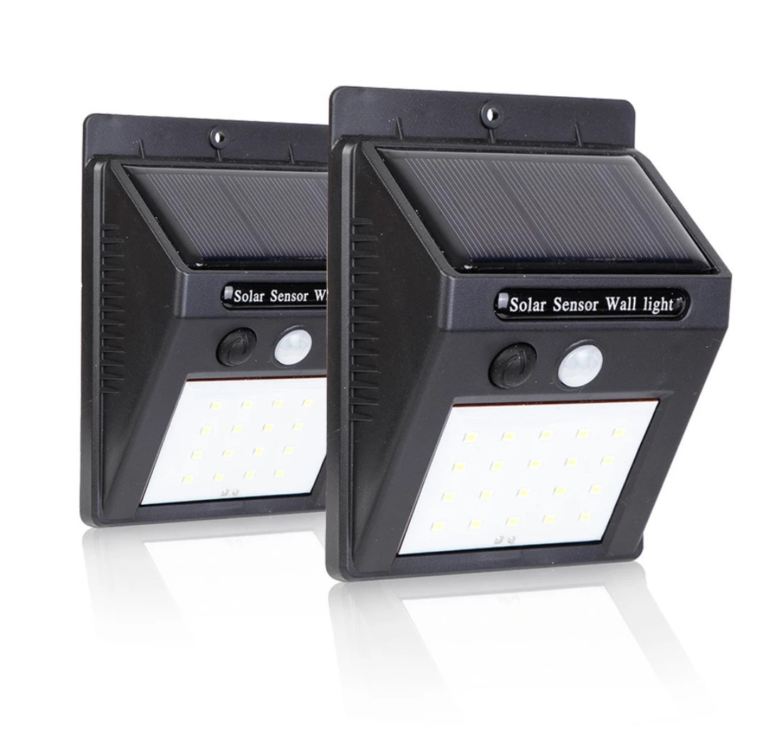 Светильник на солнечной батарее 100 LED наружного освещения Solar Motion с датчиком движения