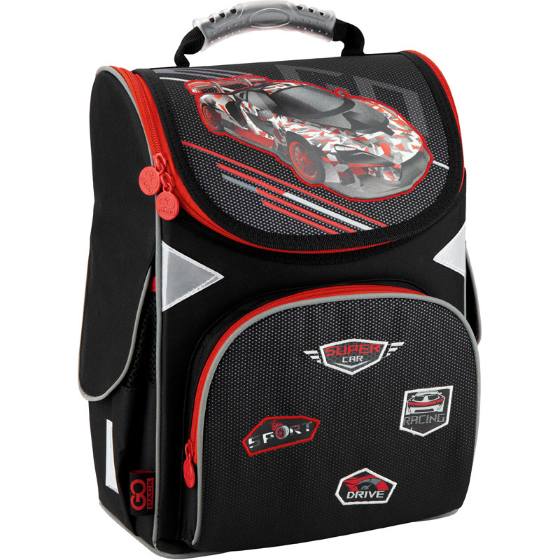 Рюкзак школьный каркасный GoPack Super race (GO20-5001S-14)