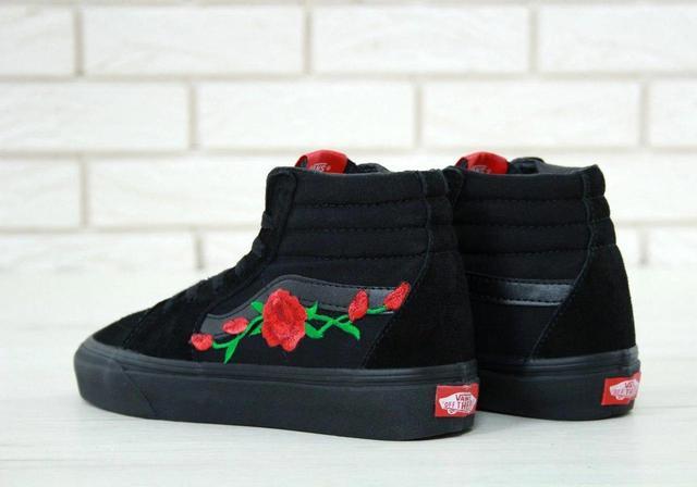 Vans SK8 Old Skool Black Core Rose