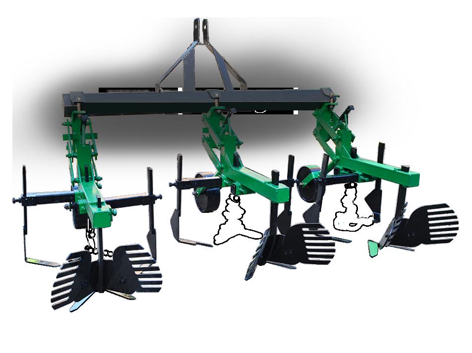 Культиватор для минитрактора КМО-2,1 с окучниками Володар