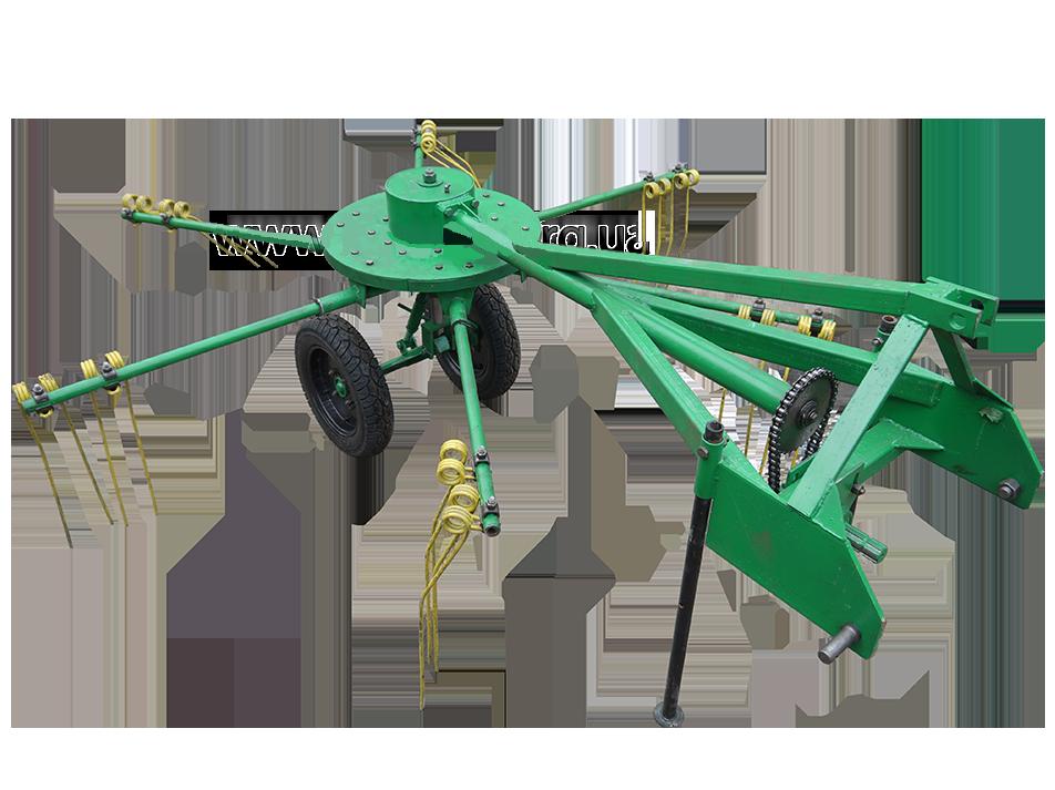Грабли ворошилки тракторные роторные ГВР-2 Володар