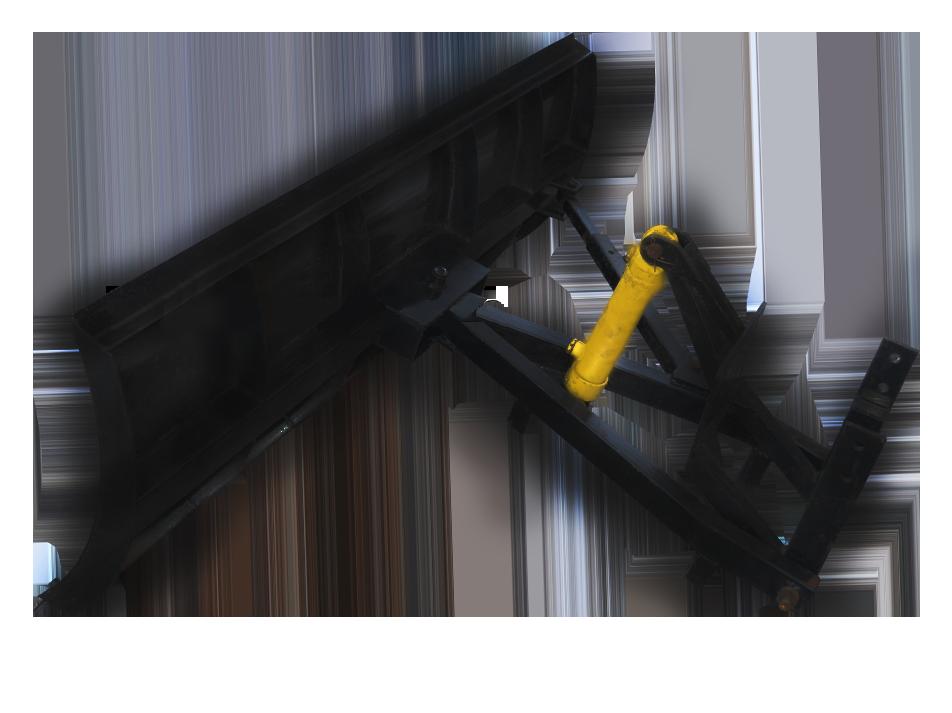 Лопата-отвал для минитрактора ОТ-180 с гидроцилиндром Володар