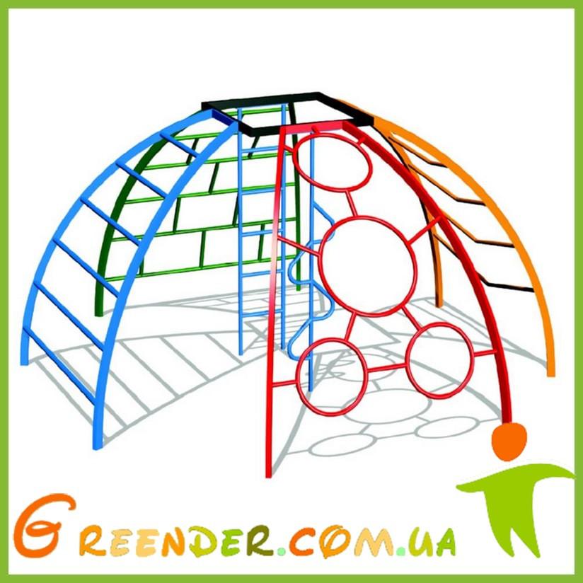 Детские спортивные комплексы для дачи Рукоход Сфера Шесть элементов