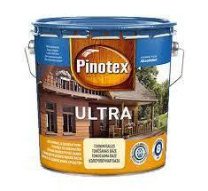 Pinotex Ultra 3л краска-лак Пинотекс Ультра «Красное дерево», фото 2