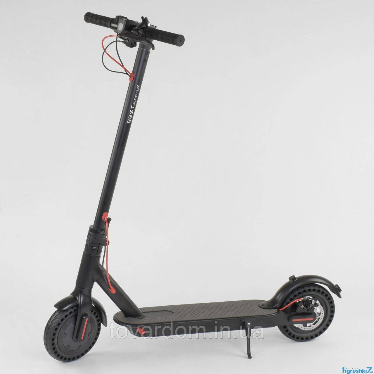 "Электросамокат SD- 3678 (1) ""Best Scooter"", колеса 8,5``, цвет ЧЁРНЫЙ"
