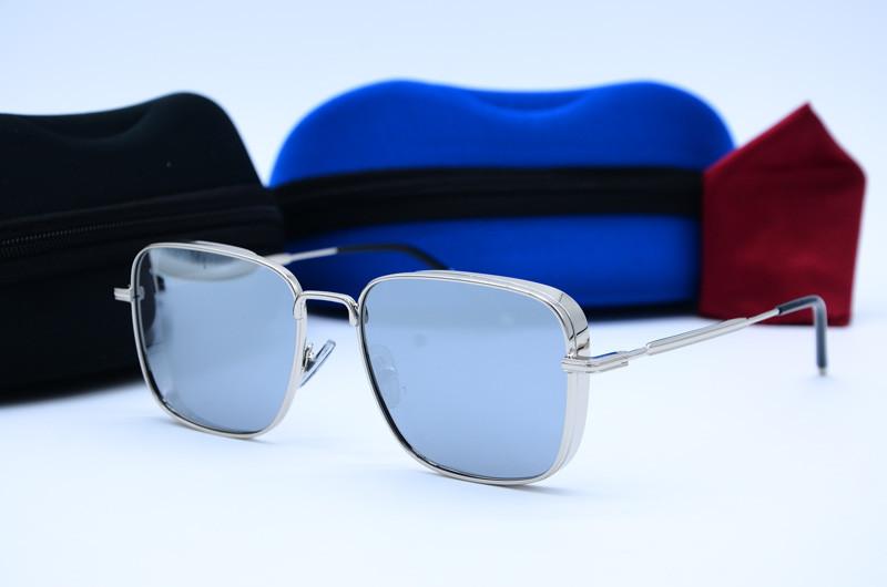 Винтажные прямоугольные солнцезащитные очки антибликовые 32025 c8