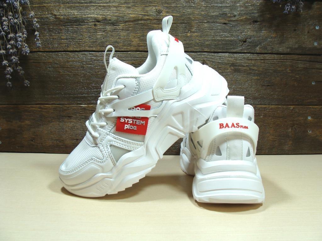 Кроссовки BaaS Trend System белые 38 р.