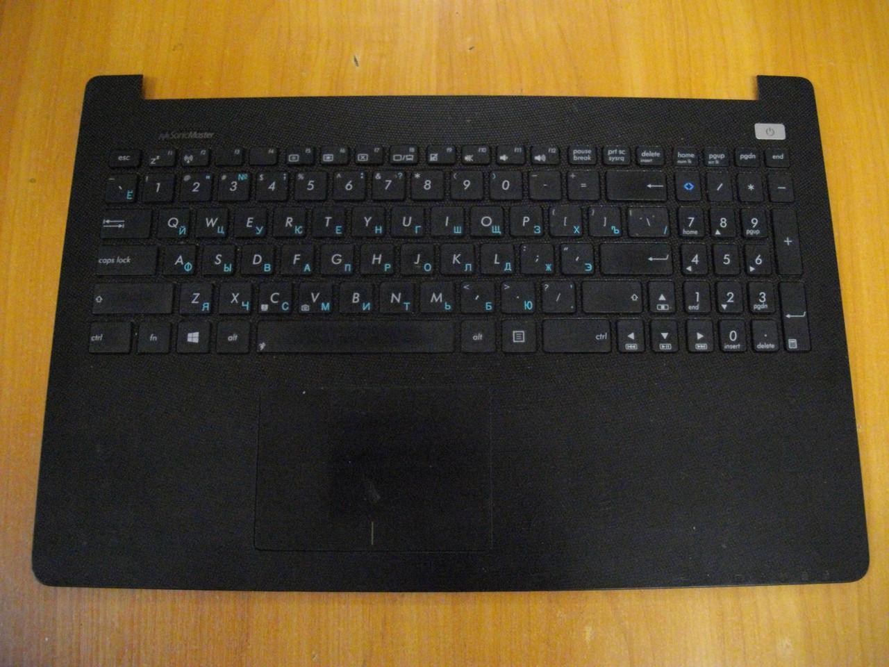 Оригинальный Корпус верх, Верхняя часть корпуса с тачпадом и клавиатурой Топкейс ASUS X502C, X502 БУ