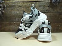 Кроссовки BaaS Trend System бело-черные 38 р., фото 1