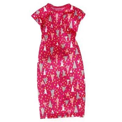 Модне рожеве плаття для ляльки Барбі DWG12
