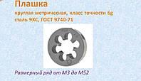 Плашка М 14х2,0
