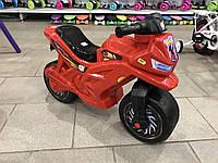 Мотоцикл толокар беговел Орион. Красный