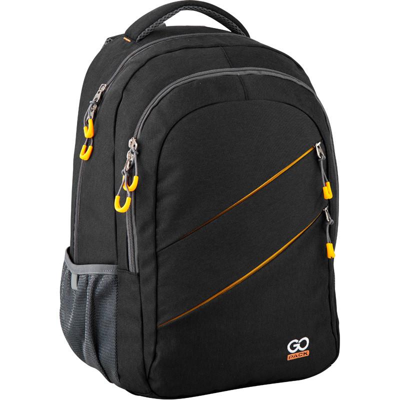 Рюкзак подростковый GoPack Сity 110-1 Yellow (GO20-110XL-1)