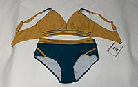 Купальник женский супербатал 52-60(+6) (цвета: горичца,кофе,бордо,бутылка_ оптом, фото 1
