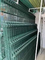 Сетка для ограждений Секционная Зелёная ø 4/4 1,53 / 2,50 м