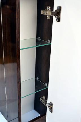 Зеркальный шкаф в ванную комнату Simple венге 60, фото 2