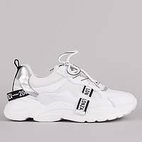 Женские  белые кроссовки Lonza F90122 WHITE +++ F90122-1 WHITE весна 2020, фото 1