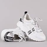 Женские  белые кроссовки Lonza F90122 WHITE +++ F90122-1 WHITE весна 2020, фото 2