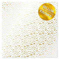 Калька - Golden Stars - Fabrika Decoru - 30x30