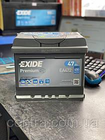 Автомобильный аккумулятор EXIDE PREMIUM EA472 47Ah