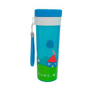 Бутылка Empire пластиковая круглая для воды и напитков 450 мл. 1510