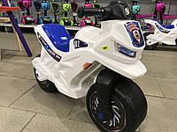 Мотоцикл толокар беговел Орион. Белый