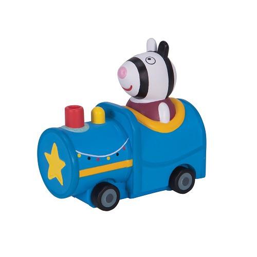 Мини-Машинка Peppa Серии Когда Я Вырасту - Зебра Зоя В Поезде (95789)