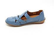 Комфортні жіночі мокасини Pabeste IB1040-11-bluе, фото 3