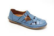 Комфортні жіночі мокасини Pabeste IB1040-11-bluе, фото 2