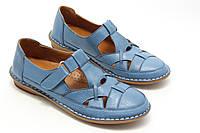 Комфортные женские мокасины  Pabeste IB1040-11-bluе