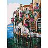 """Картина по номерам, ТМ Идейка, холст на подрамнике, Пейзаж """"Цвета Тосканы"""" 35*50 см, без коробки"""