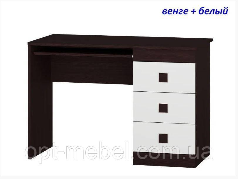 Стол письменный Соната с надставкой / без надставки