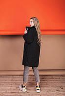 Стильное женское пальто Oversize 42-46; 48-52; 6 расцветок, фото 1