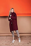 Стильное женское пальто Oversize 42-46; 48-52; 6 расцветок, фото 4
