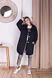 Стильное женское пальто Oversize 42-46; 48-52; 6 расцветок, фото 7
