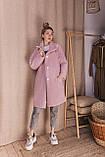 Стильное женское пальто Oversize 42-46; 48-52; 6 расцветок, фото 3