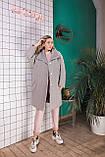 Стильное женское пальто Oversize 42-46; 48-52; 6 расцветок, фото 8