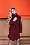 Стильное женское пальто Oversize 42-46; 48-52; 6 расцветок, фото 6