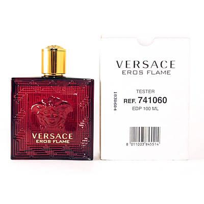 Версаче оригінальні чоловічі парфуми VERSACE Eros Flame ТЕСТЕР 100ml, свіжий цитрусовий пряний аромат