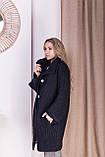 Стильное женское пальто Oversize 42-46; 48-52; 6 расцветок, фото 5