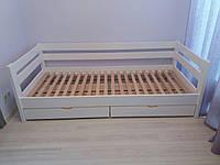Кровать из натурального дерева детская Панда 2 (200х90), фото 1