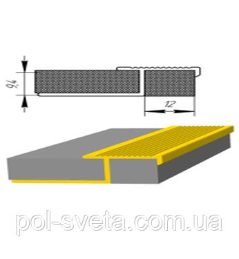 Алюминиевый профиль для плитки ПЛ-210